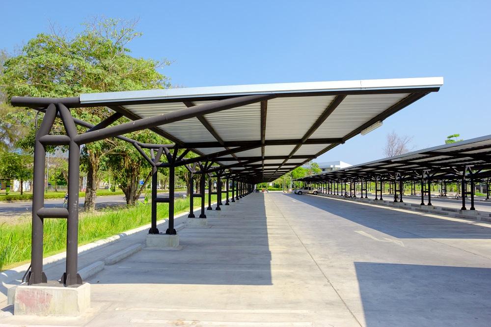 سقف پارکینگ اتومبیل منازل چه ویژگی هایی دارد؟   لزوم ساخت سقف پارکینگ