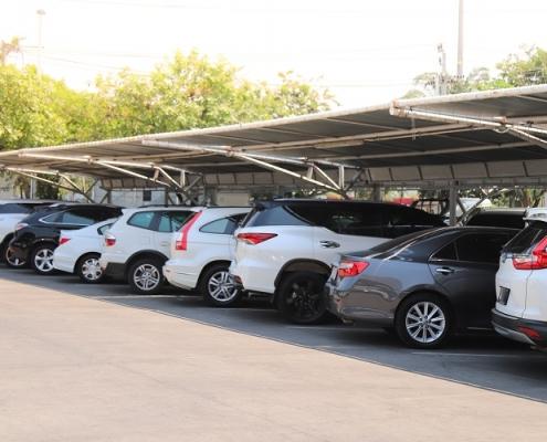 خدمات مربوط به سقف پارکینگ